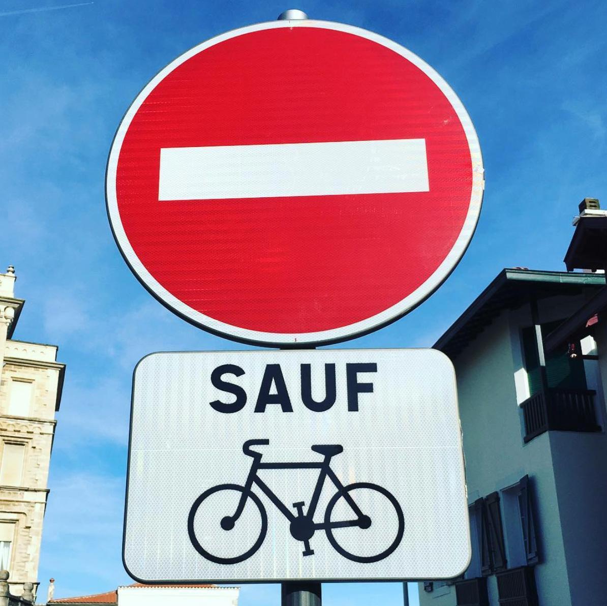 nouvelles pistes cyclables cote basque